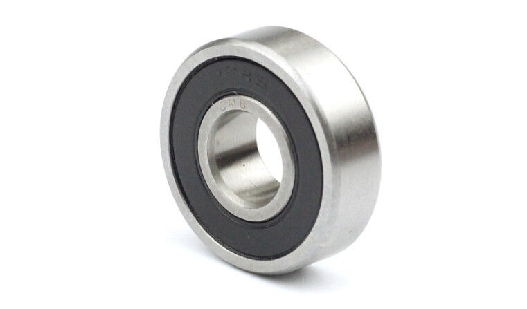 high temperature 4pcs Ball Bearing 6205-2rs C3 Deep Groove Rubber Sealed Bearing 25x52x15 mm
