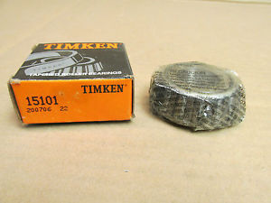 "high temperature NIB TIMKEN 15101 TAPERED ROLLER BEARING 25.4 mm 1"" ID"