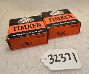 high temperature 1 pair timken 15580 tapered roller bearing (Inv.32371)