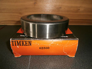 high temperature Timken 65500 Tapered Roller Bearing Cup or Race