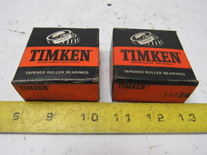 """high temperature Timken 14124 Tapered Roller Bearing Single Cone 1.25"""" Bore Lot of 2 New"""
