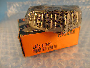 high temperature Timken LM501349 (Crown 3156052) Tapered Bearing Cone