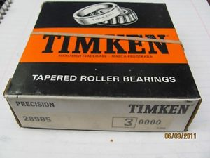 high temperature Timken Tapered Roller Bearing 28985 Class 3 Precision