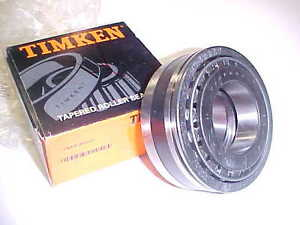 high temperature New Timken DOUBLE CONE TAPERED ROLLER BEARING,SPACER,& CUP assembly 385AX 90307