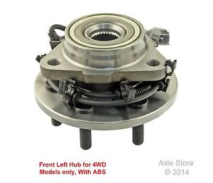 high temperature New DTA Front Left Wheel Hub and Bearing Assembly with Warranty 515008