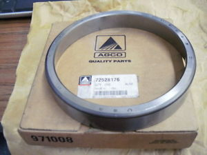 high temperature Timken LM522510 Tapered Roller Bearing Single Cup Outer Race AGCO72528176
