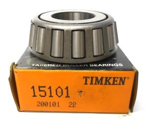 "high temperature TIMKEN TAPERED BEARING 15101, CONE, 1"" BORE"