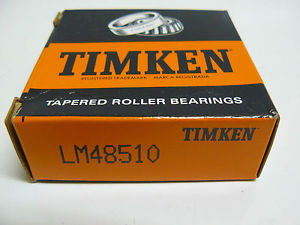 high temperature  TIMKEN LM48510 TAPERED ROLLER BEARING OUTER RACE CUP