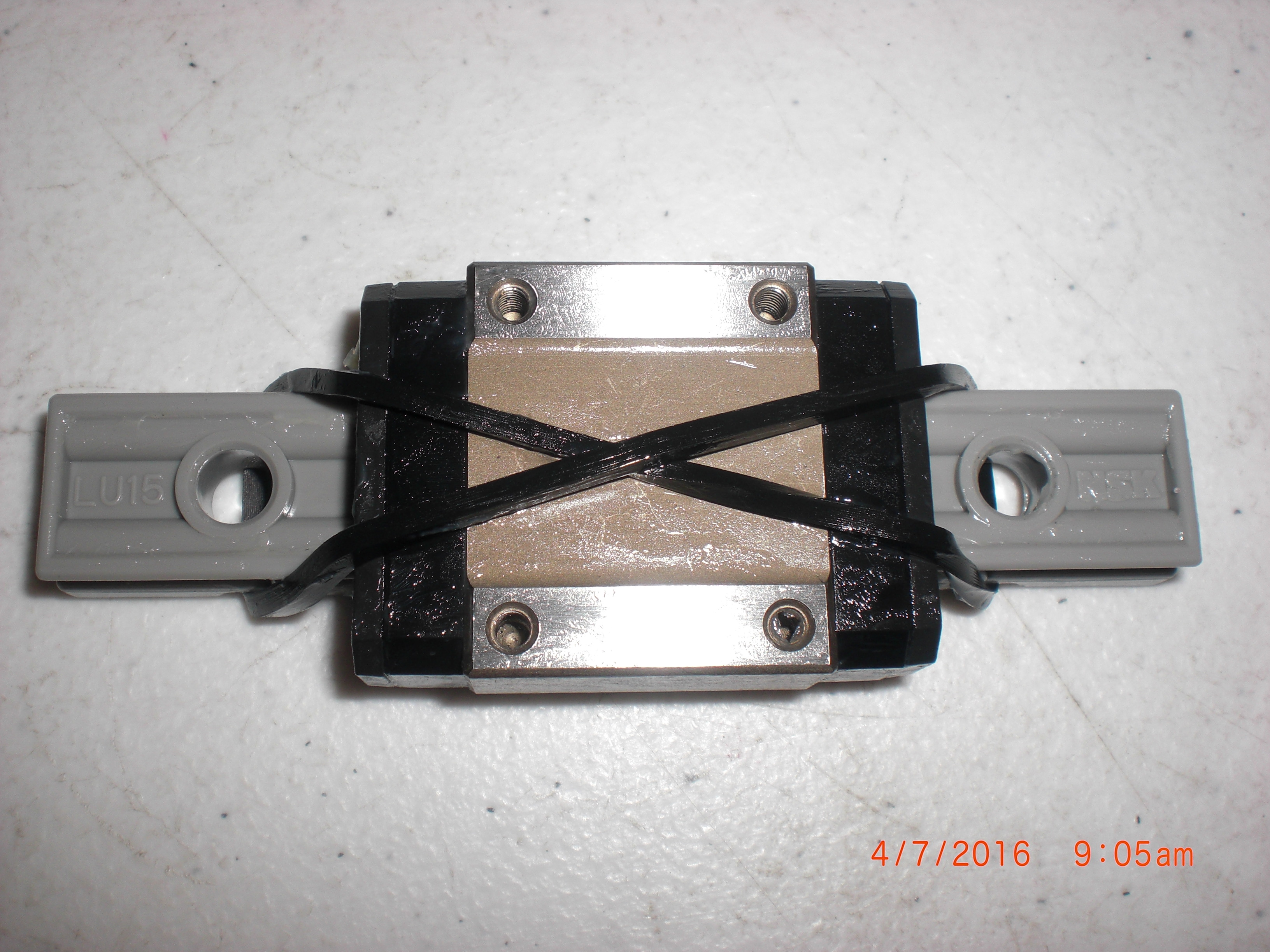high temperature Bearing NSK LU15 Novellus 43-500122-000 Linear guide
