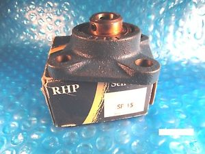 high temperature RHP SF15, Ball Bearing Flange Unit, Insert=1017-15G