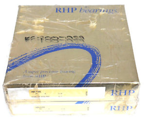 high temperature LOT OF 2 NIB RHP MBU199 PRECISION BEARINGS 9-7-5
