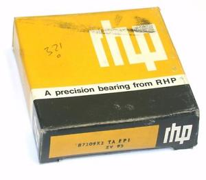 high temperature BRAND  IN BOX RHP PRECISION ROLLER BEARING 45MM X 85MM X 20MM B7209X2 TA EP1