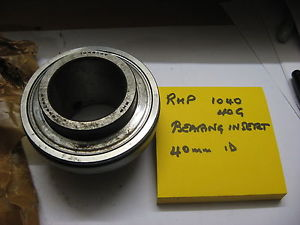 high temperature RHP 1040G 40mm bearing insert.