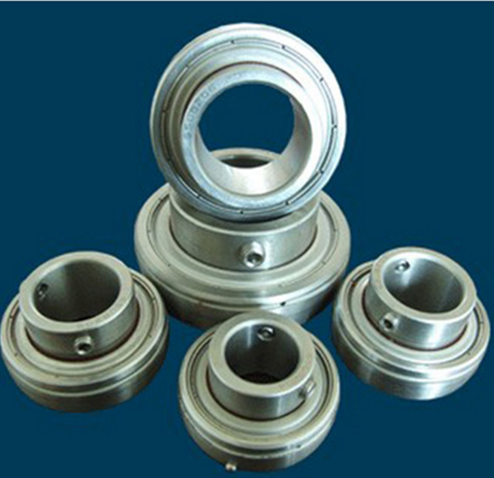 high temperature 1pc New SUC205 Stainless Steel Insert Ball Bearing id 25mm