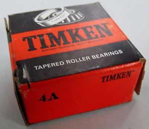 high temperature  Timken 4A Inner & 6 Outer Single Row Tapered Roller Precision Bearing   ***