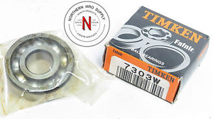 high temperature TIMKEN (FAFNIR) 7303W ANGULAR CONTACT BEARING, 17mm x47mm x 14mm