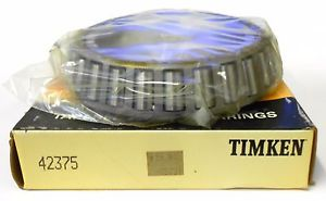 "high temperature TIMKEN TAPERED ROLLER BEARING 42375, 3 3/4"" BORE,"