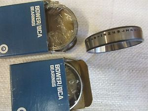 high temperature (2) BOWER AND (1) TIMKEN 12545 BEARINGS (3 PCS TOTAL)