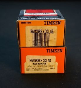 high temperature LOT OF 2 TIMKEN RA012RRB + COL AG BEARINGS w/ COLLAR – FAFNIR FARM AGRICULTURE