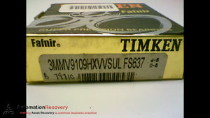 high temperature TIMKEN 3MMV9109HXVVSULFS637 SUPER PRECISION BEARING,  #173216