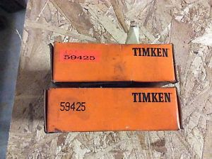 high temperature 2-Timken tapered roller bearing,  NOS, #59425, free shipping to lower 48