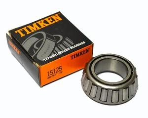 "high temperature  TIMKEN 15125 TAPERED BEARING CONE 1.2500"" BORE X 0.813"" WIDTH"