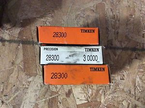 high temperature 3-Timken tapered roller bearing,  NOS, #29300, free shipping, 30 day warranty