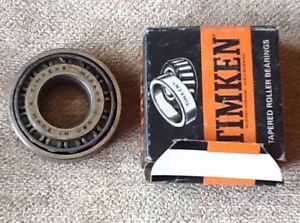 high temperature Timken Tapered Roller Bearings M12160 Made In USA With Original Box