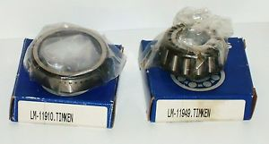 high temperature Timken LM-11949 & Timken LM 11910 Bearings for Multiple Different Motors
