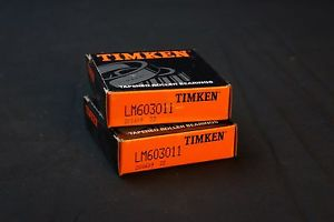 high temperature Lot of 2 Timken LM603011 Bearing Cups – Fafnir Farm Tractor/Implement Bearing
