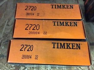 high temperature 3-Timken-bearings,#2720 ,Free shipping lower 48, 30 day warranty!