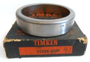 "high temperature TIMKEN, TAPERED ROLLER BEARING CUP, 25524, 2.2650"" OD, SINGLE CUP"