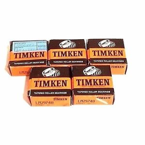 high temperature LOT OF 5 NIB TIMKEN LM29748 TAPERED ROLLER BEARINGS 199912-22