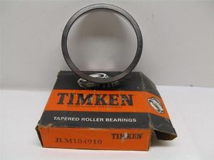 high temperature Timken JLM104910 Tapered Roller Bearing Race Outer Cup New