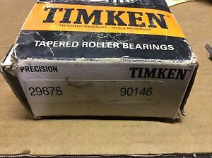high temperature -Timken bearings#29675 90156-S,30 day warranty, free shipping lower 48!