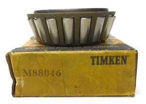 "high temperature TIMKEN TAPERED BEARING M88046, 1.25"" BORE. 0.8750"" WIDTH"