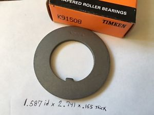 "high temperature New Timken K91508 Bearing Tongue Lock Washer 1.587"" Bore 2.741"" OD .165"" Thick"