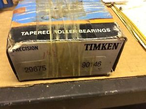 high temperature -Timken bearings#29675 90146,30 day warranty, free shipping lower 48!