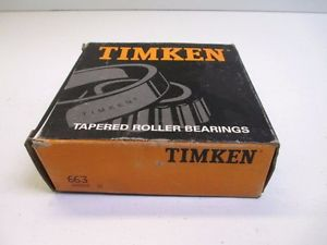 high temperature TIMKEN 663 TAPERED INNER RACE ASSEMBLY MANUFACTURING CONSTRUCTION