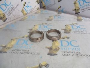 high temperature TIMKEN NTN 4T-02820 TAPERED ROLLER BEARING CUP LOT OF 2