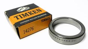 """high temperature BRAND  TIMKEN 14276 BEARING CUP 2.717"""" OD X 0.6250"""" WIDTH (2 AVAILABLE)"""