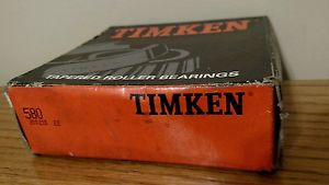 "high temperature Timken 580 Tapered Roller Bearing Inner Race Assembly 3.25"" X 1.421"" Made in USA"