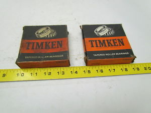 """high temperature Timken 44348 Tapered Roller Bearing cup OD 3-15/32"""" Width 11/16"""" Lot of 2"""