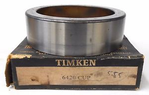 "high temperature TIMKEN 6420 TAPERED ROLLER BEARING CUP, 5 7/8"" OD, 1 3/4"" WIDTH CHROME STEEL"