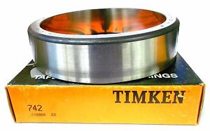 "high temperature TIMKEN 742 TAPERED ROLLER BEARING CUP, SINGLE CUP, 5-29/32"" OD, 1 7/16"" WIDTH"