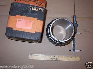 "high temperature  TIMKEN 52393DE DOUBLE TAPERED CONE BEARING 3/15/16""ID 6-1/4""W"