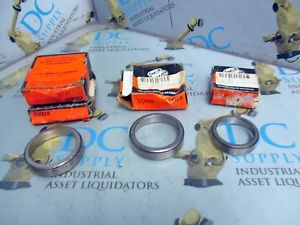 high temperature TIMKEN 17224 17244A 07204 TAPERED ROLLER BEARING LOT OF 4 NIB