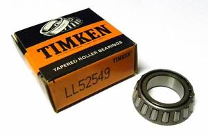 "high temperature  IN BOX TIMKEN LL52549 TAPERED BEARING CONE 0.8750"" BORE X 0.4400"" WIDTH"