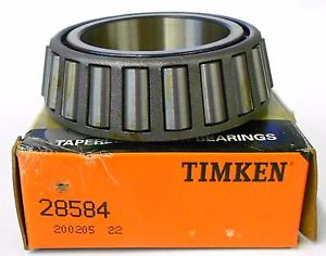 "high temperature TIMKEN TAPERED ROLLER BEARING CONE, 28584, 2.0625"" BORE, 1"" WIDTH, 3 1/4"" OD"