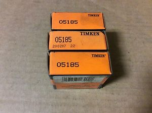 high temperature 3-Timken- bearings#05185 ,30 day warranty, free shipping lower 48!